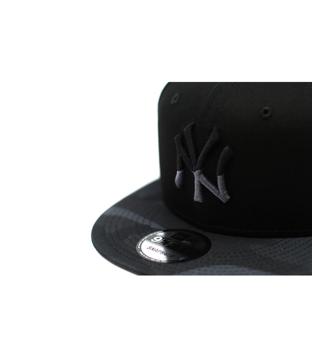 Details Snapback Camo Ess NY 9Fifty black moody - Abbildung 3