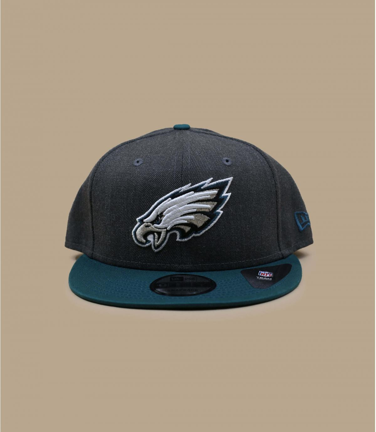 Snapback Eagles grau