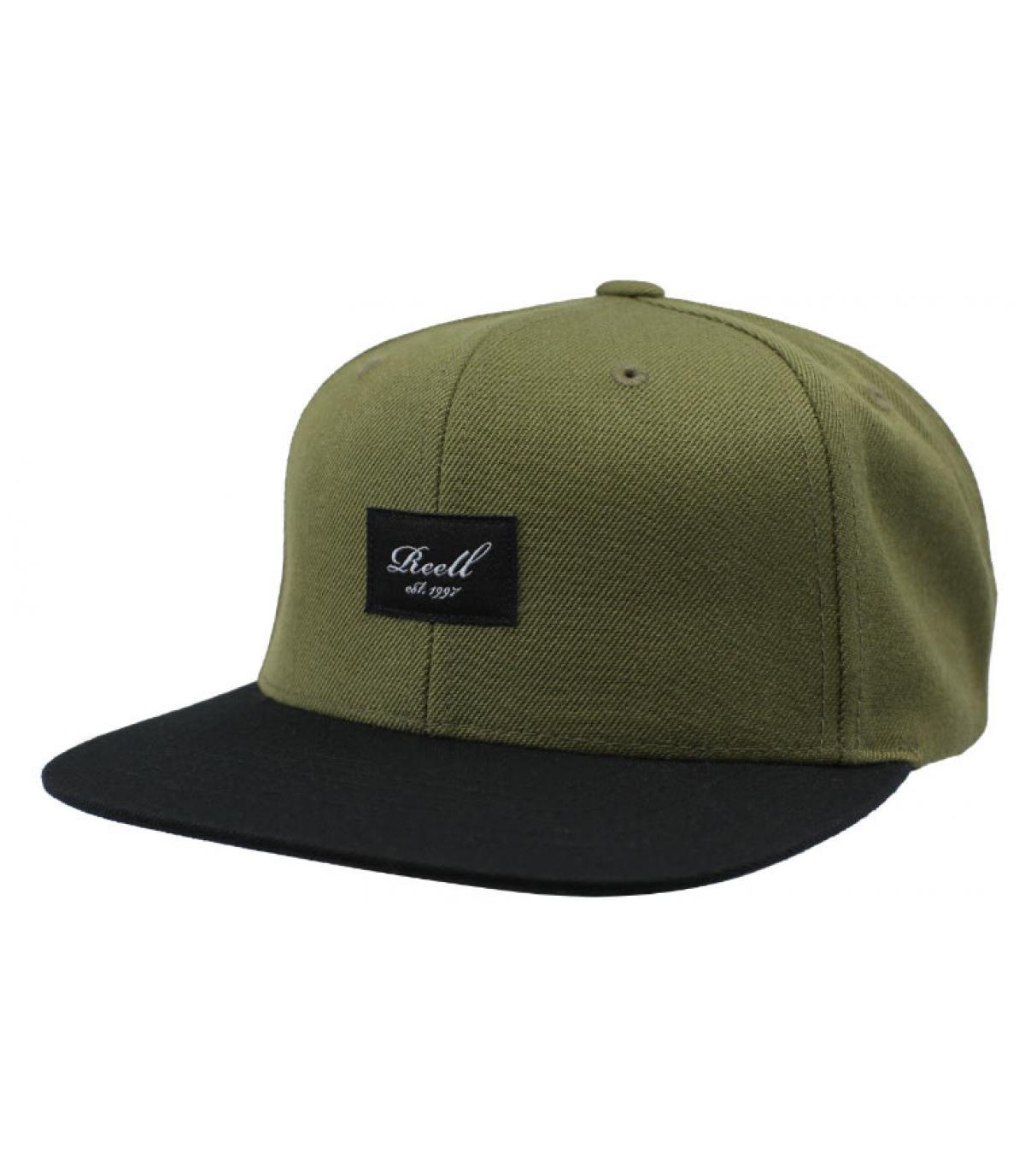 snapback grün schwarz Reell