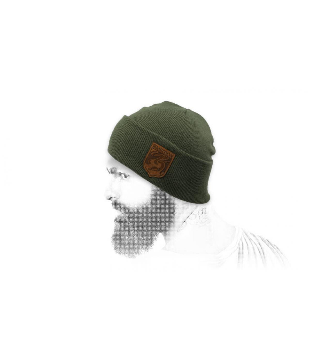 Mütze Ambition grün