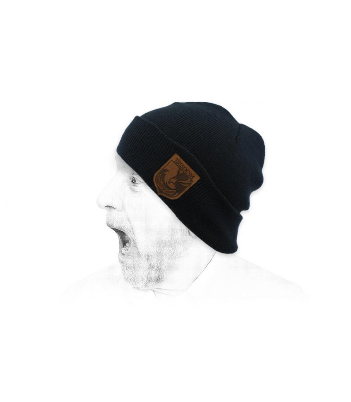Mütze Wisdom blau