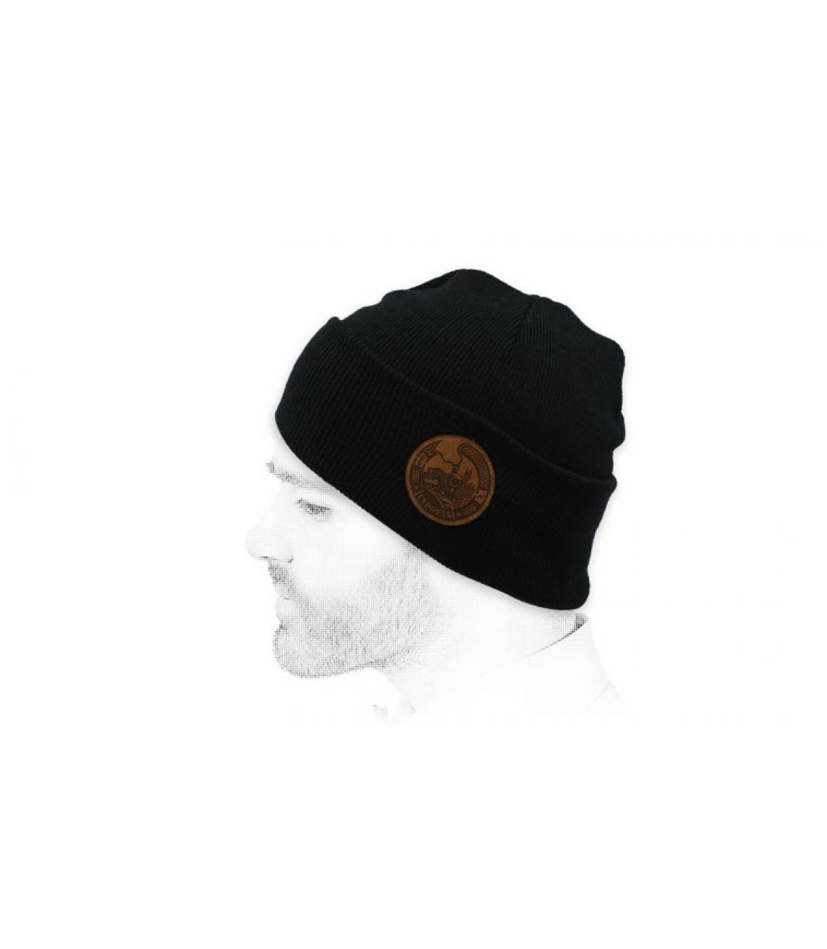 Mütze Express Zug schwarz