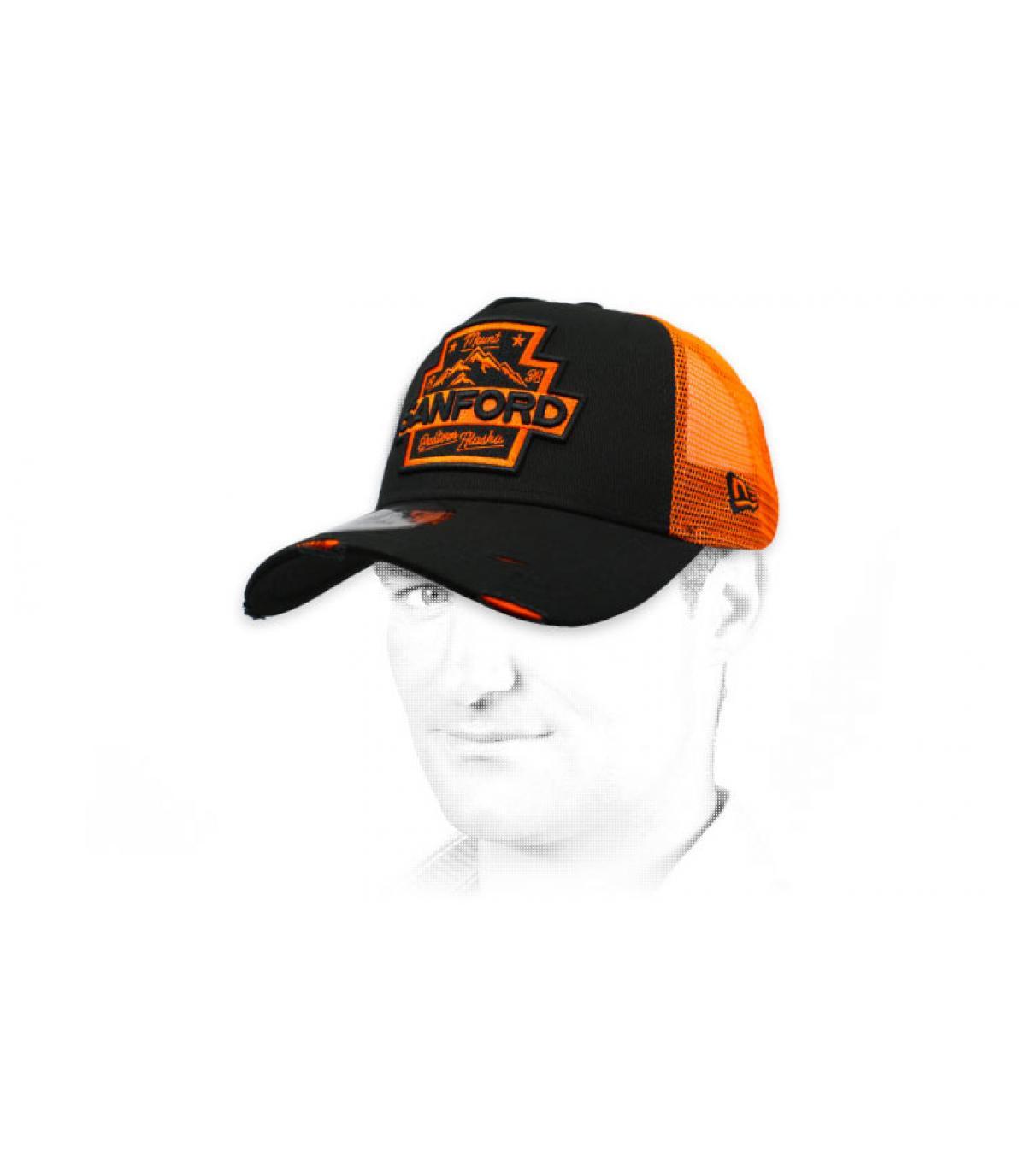 Trucker Sanford schwarz orange