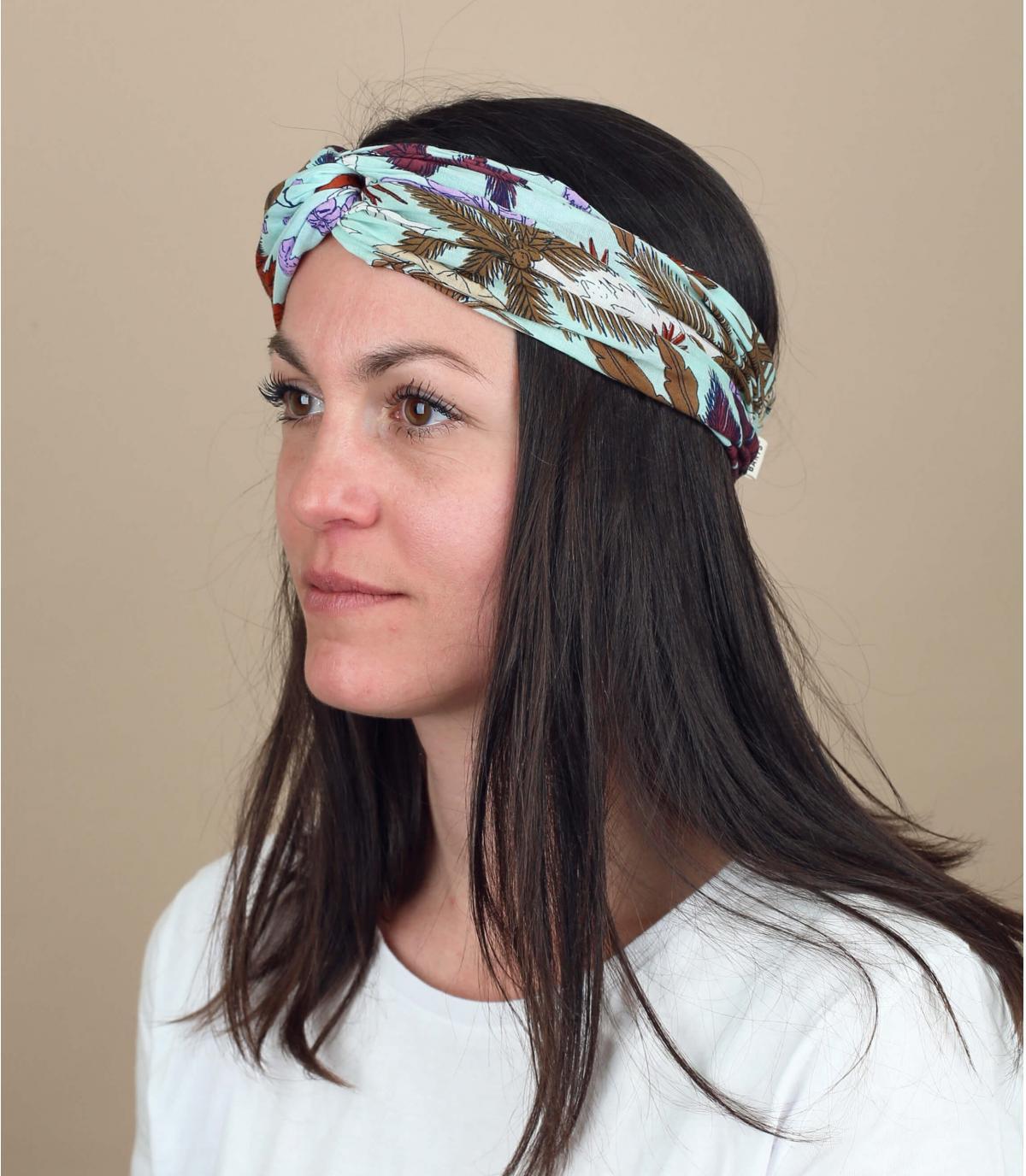 Stirnband Blumen Baumwolle