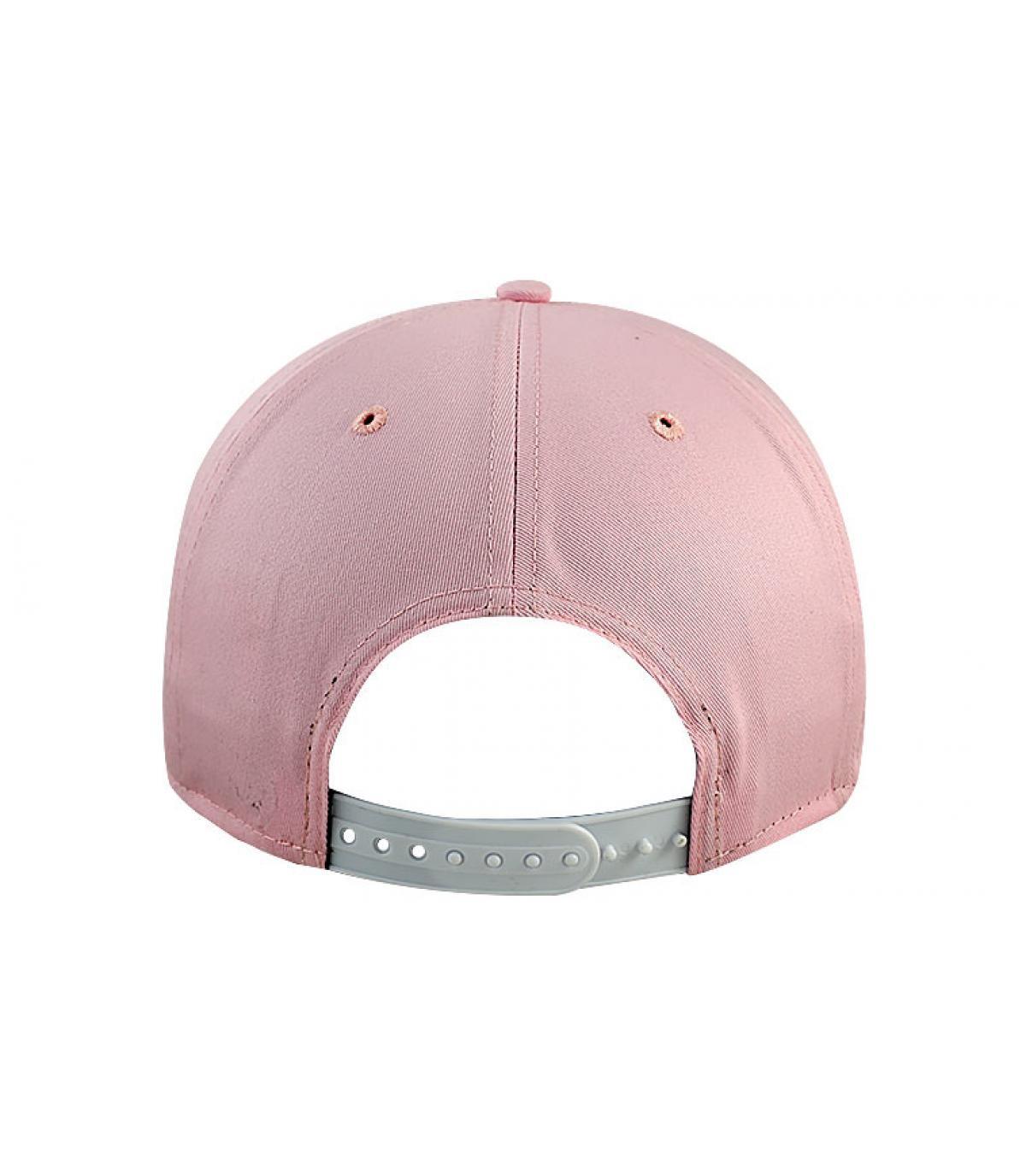 bc308d5015f4f New Era. Rosa NY Damen Cap. Details Snapback NY Dames Mode rosa - Abbildung  4  Details Snapback NY Dames Mode rosa - Abbildung ...