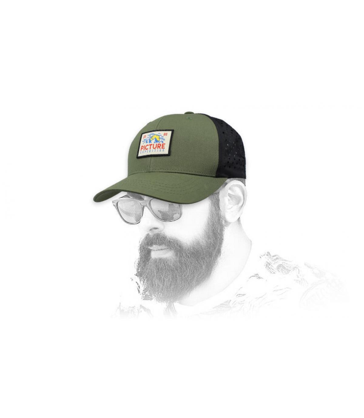 Trucker Picture grün