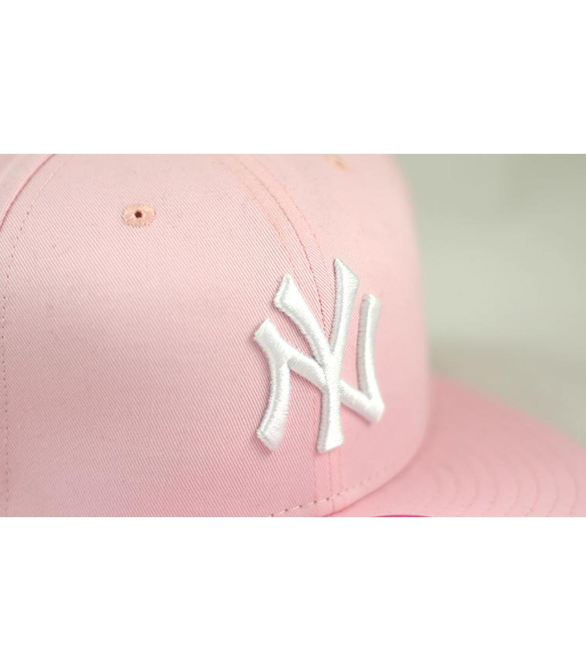 54d791dd51dfb New Era. Rosa NY Damen Cap. Details Snapback NY Dames Mode rosa - Abbildung  ...