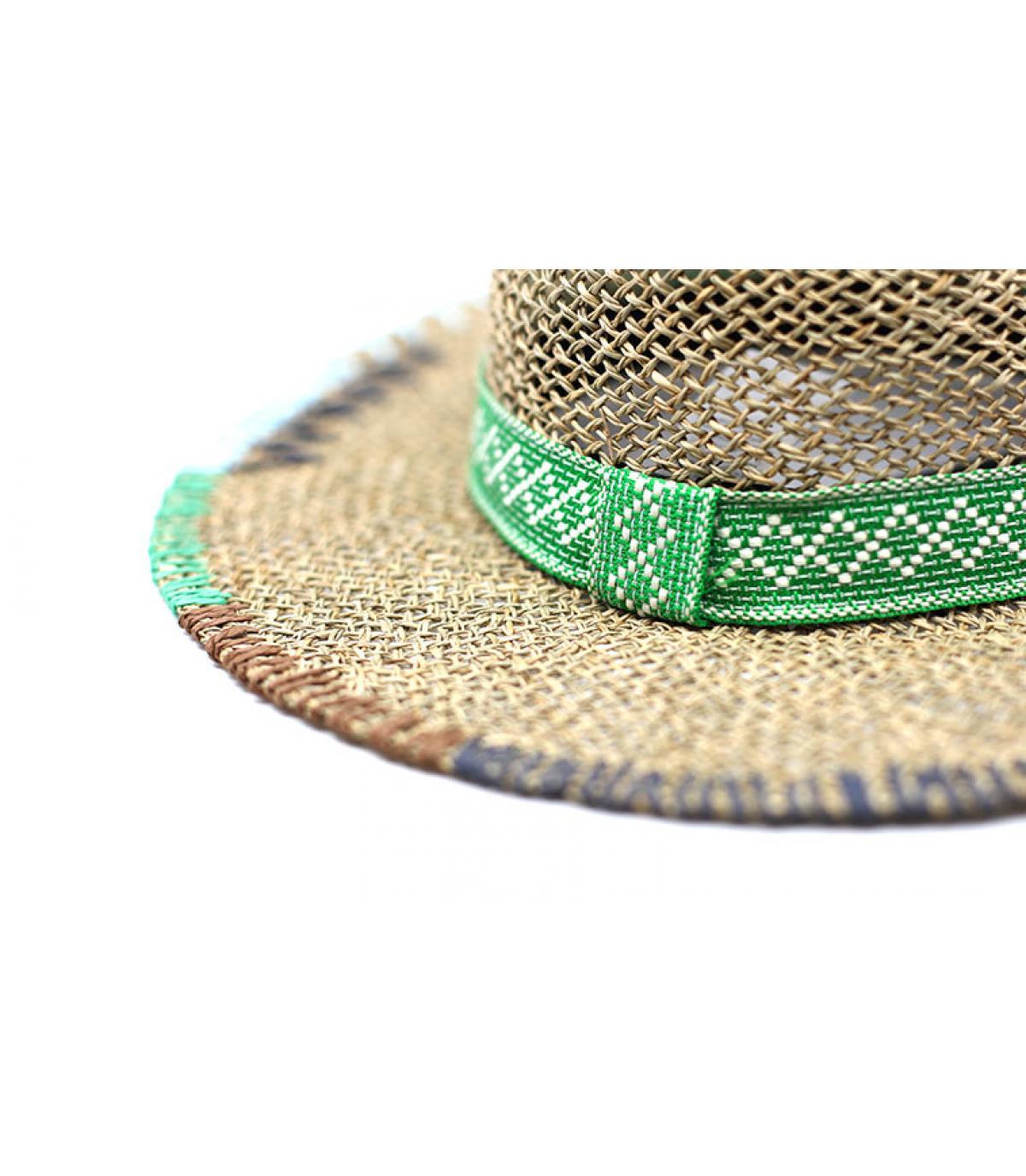 Details Floppy Embroidery natural grass green - Abbildung 3