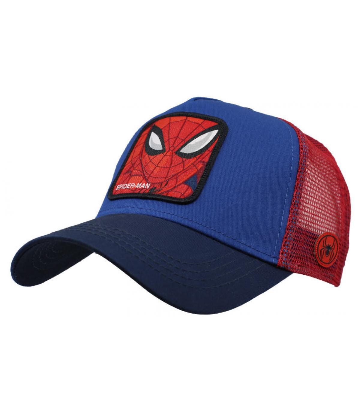 trucker Spiderman blau rot