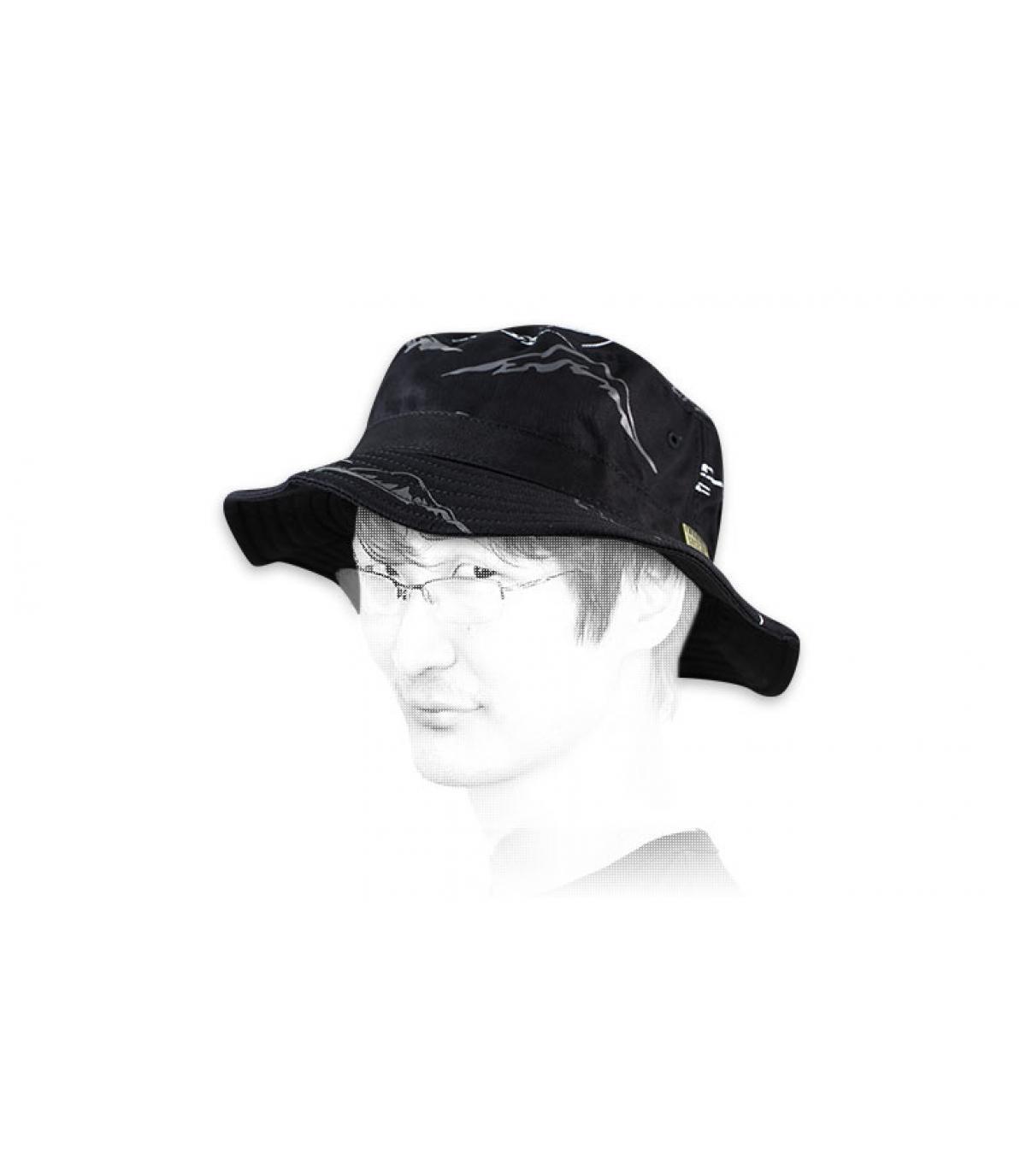 rocksmith schwarz Fischerhut