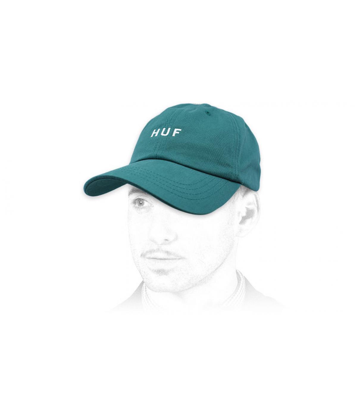 Cap Huf blau