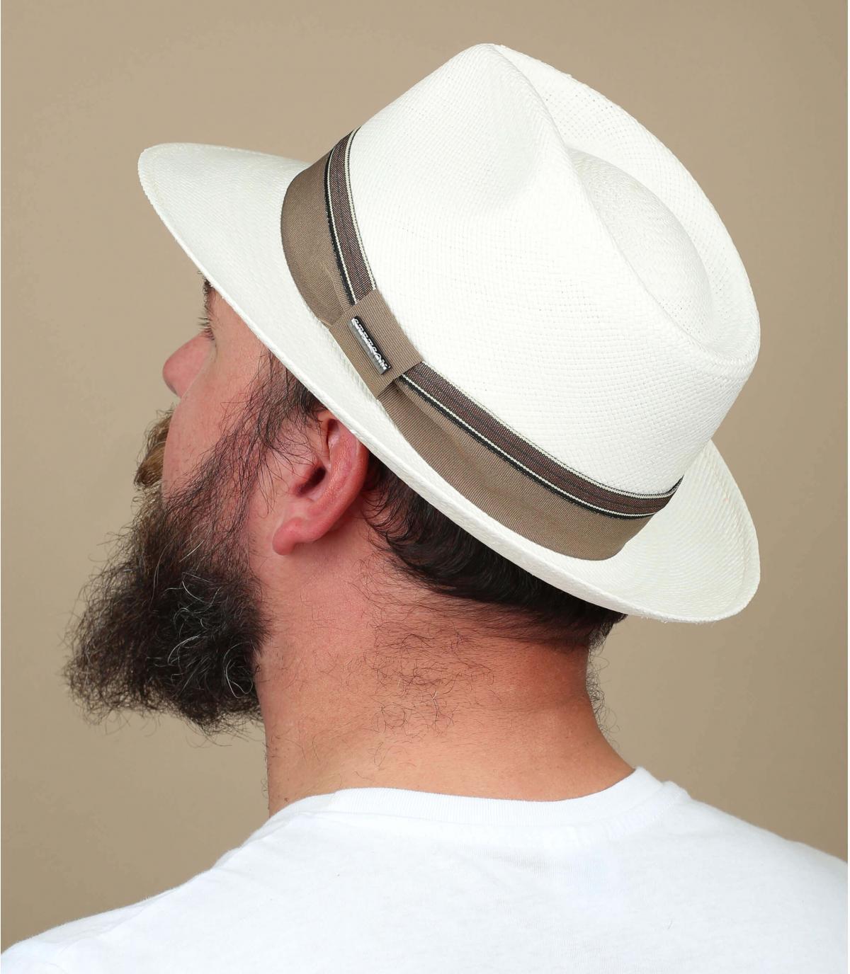 Panama Hut weiß