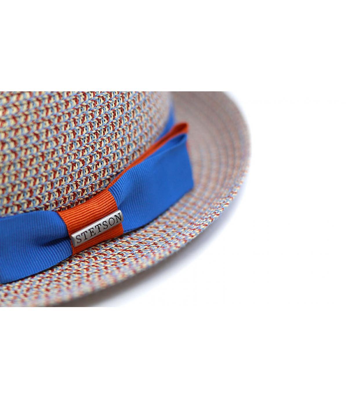 Details Trilby Toyo blue beige - Abbildung 3