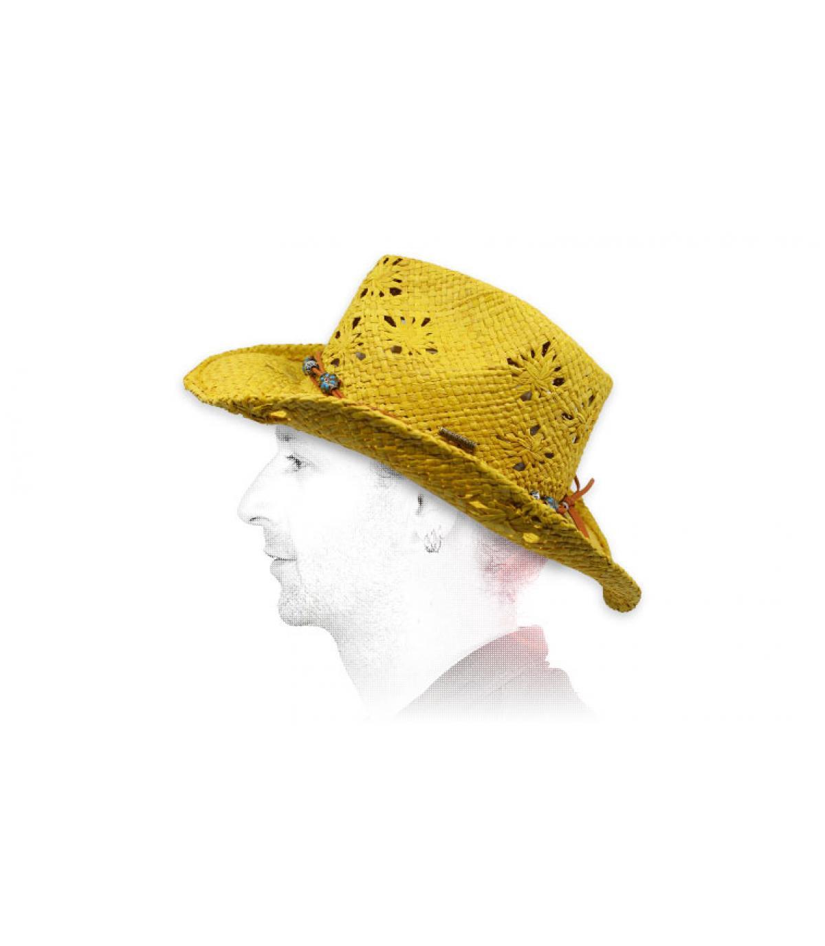 Cowboy Strohhut Stetson