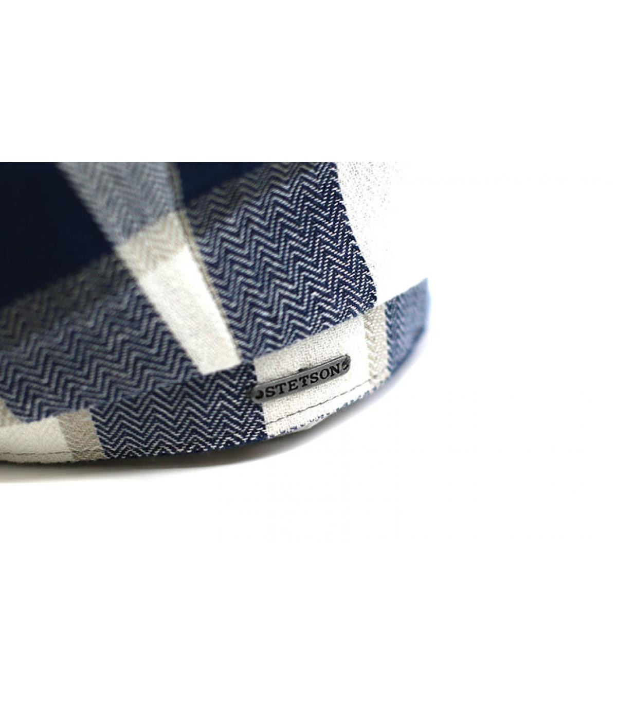 Details Hatteras Linen Check beige blue - Abbildung 3