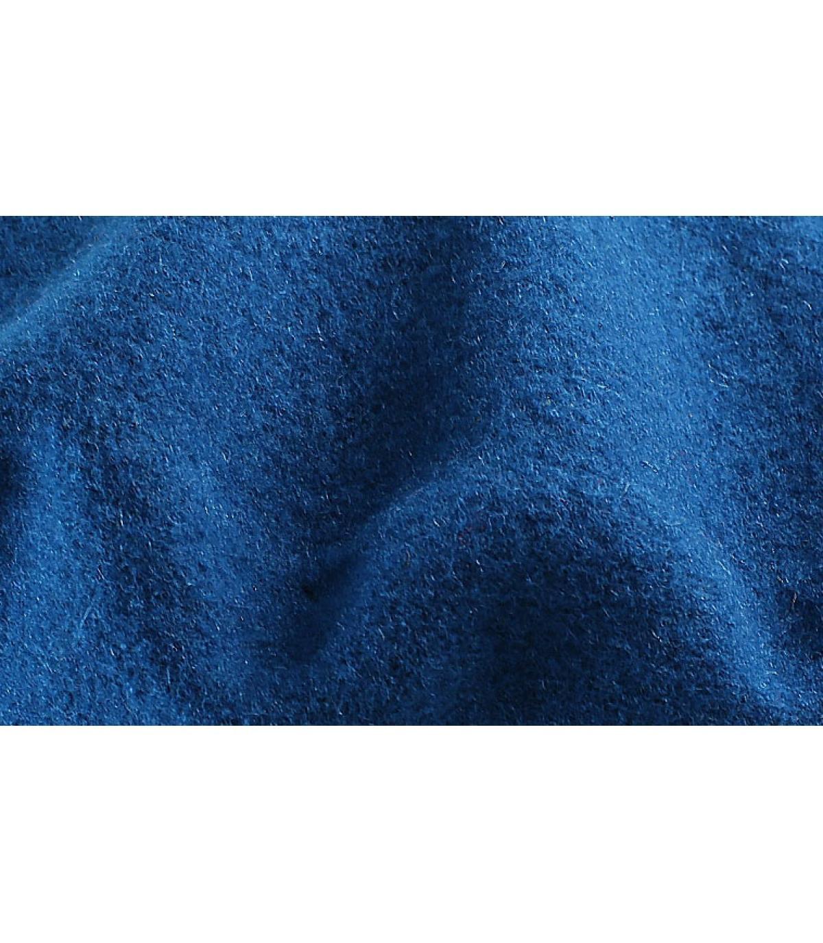 Details Blaues Französisches Beret - Abbildung 3