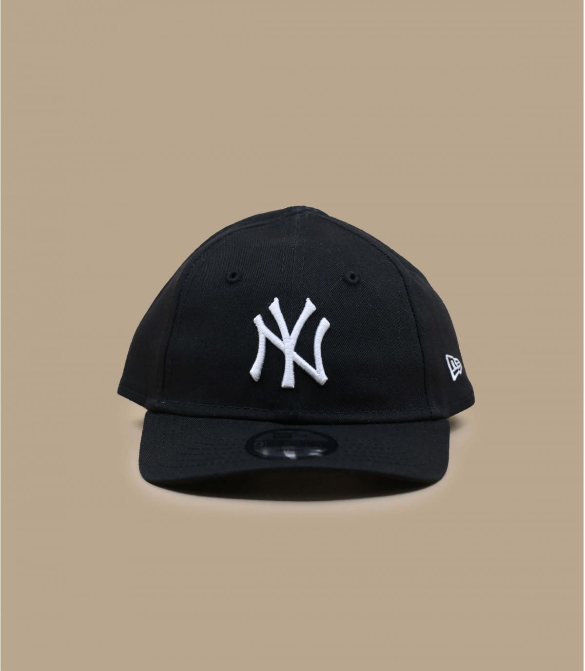 Baby Cap NY schwarz