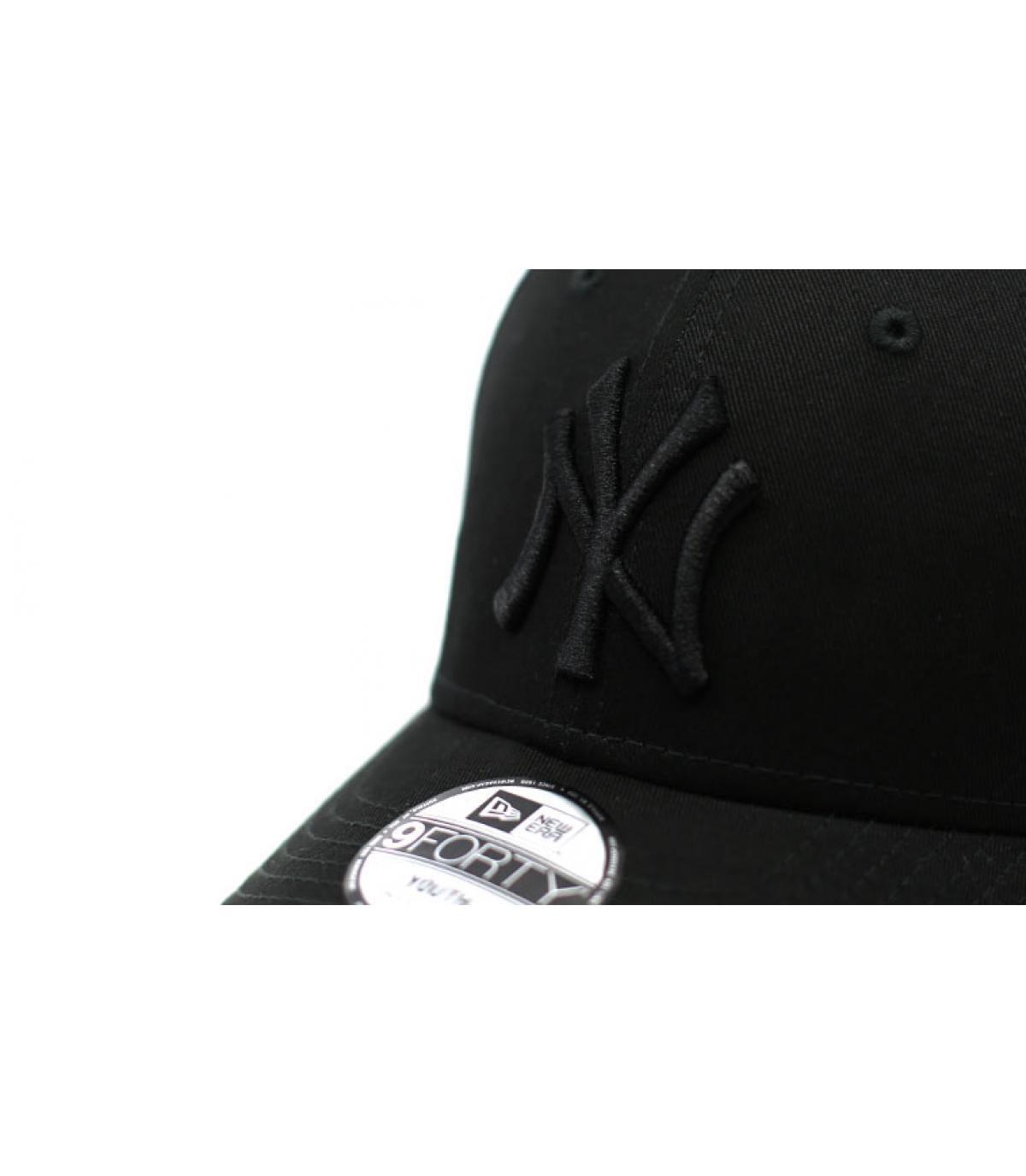 Details Cap Kids NY League Ess  9Forty black black - Abbildung 3