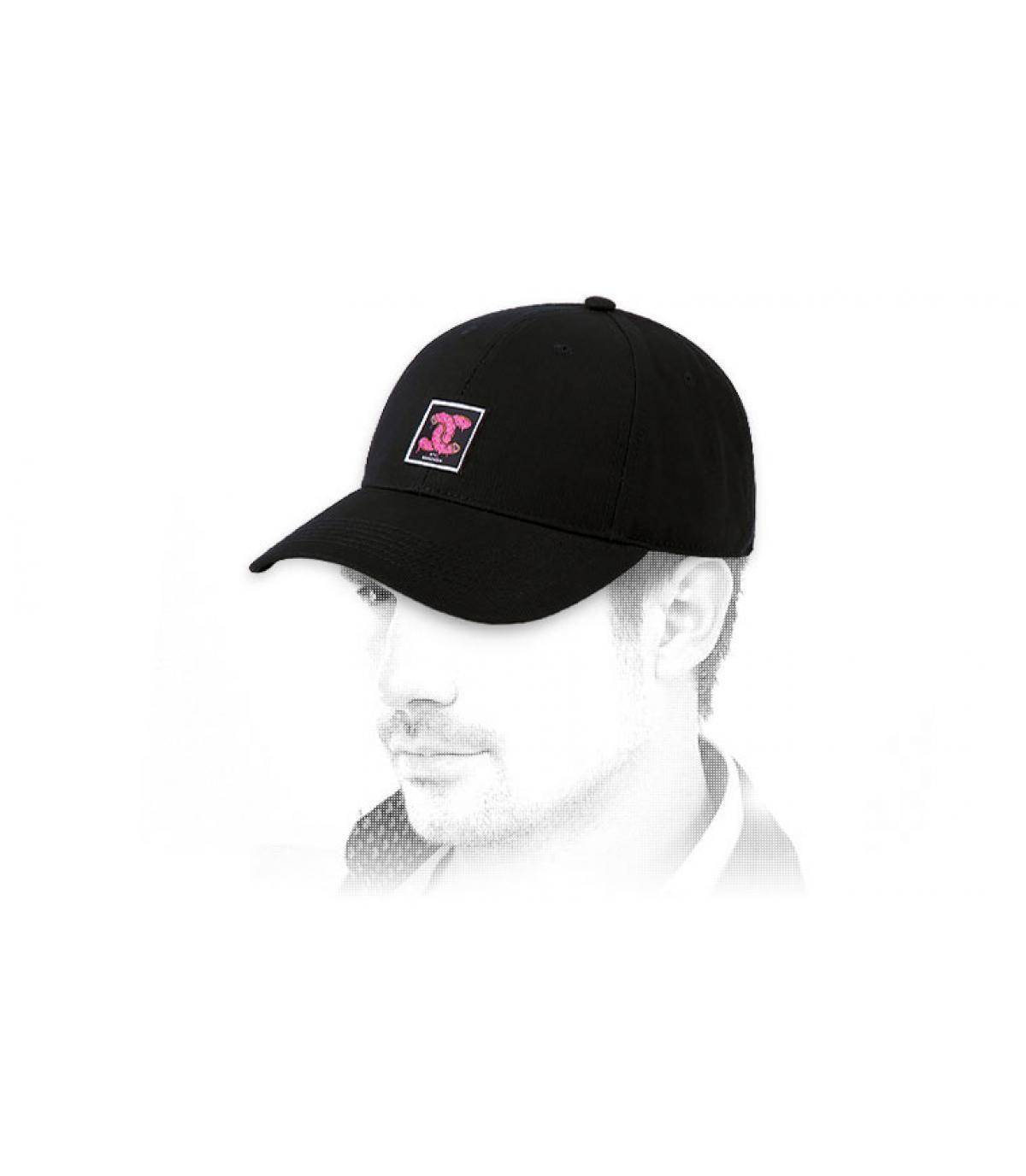 Cap Donut Logo Cayler schwarz