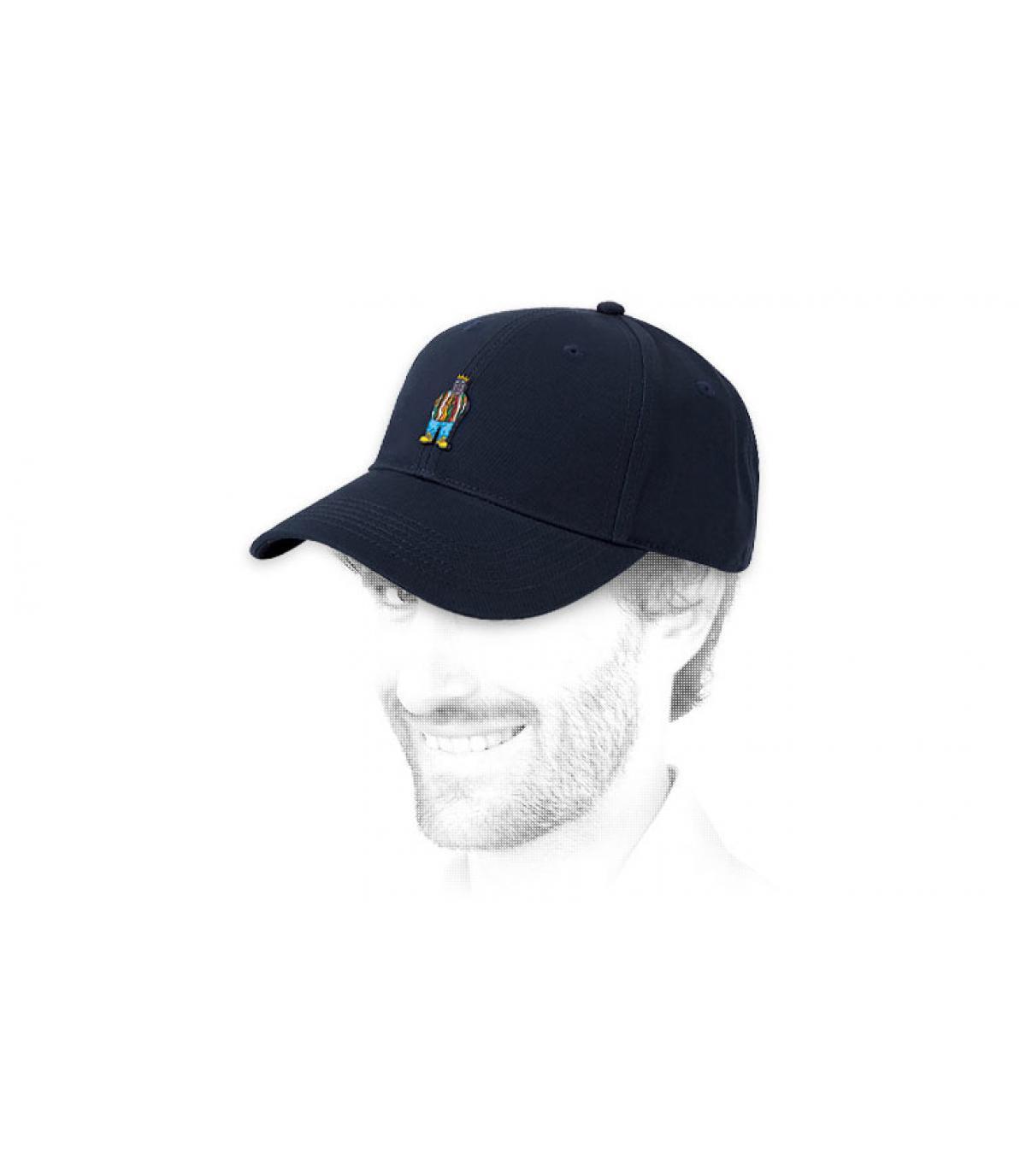 Cap Notorious blau