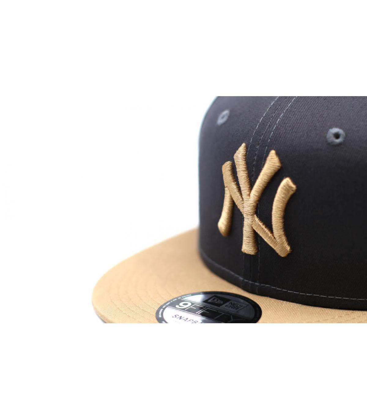 Details Snapback League Ess 9Fifty NY grey camel - Abbildung 3