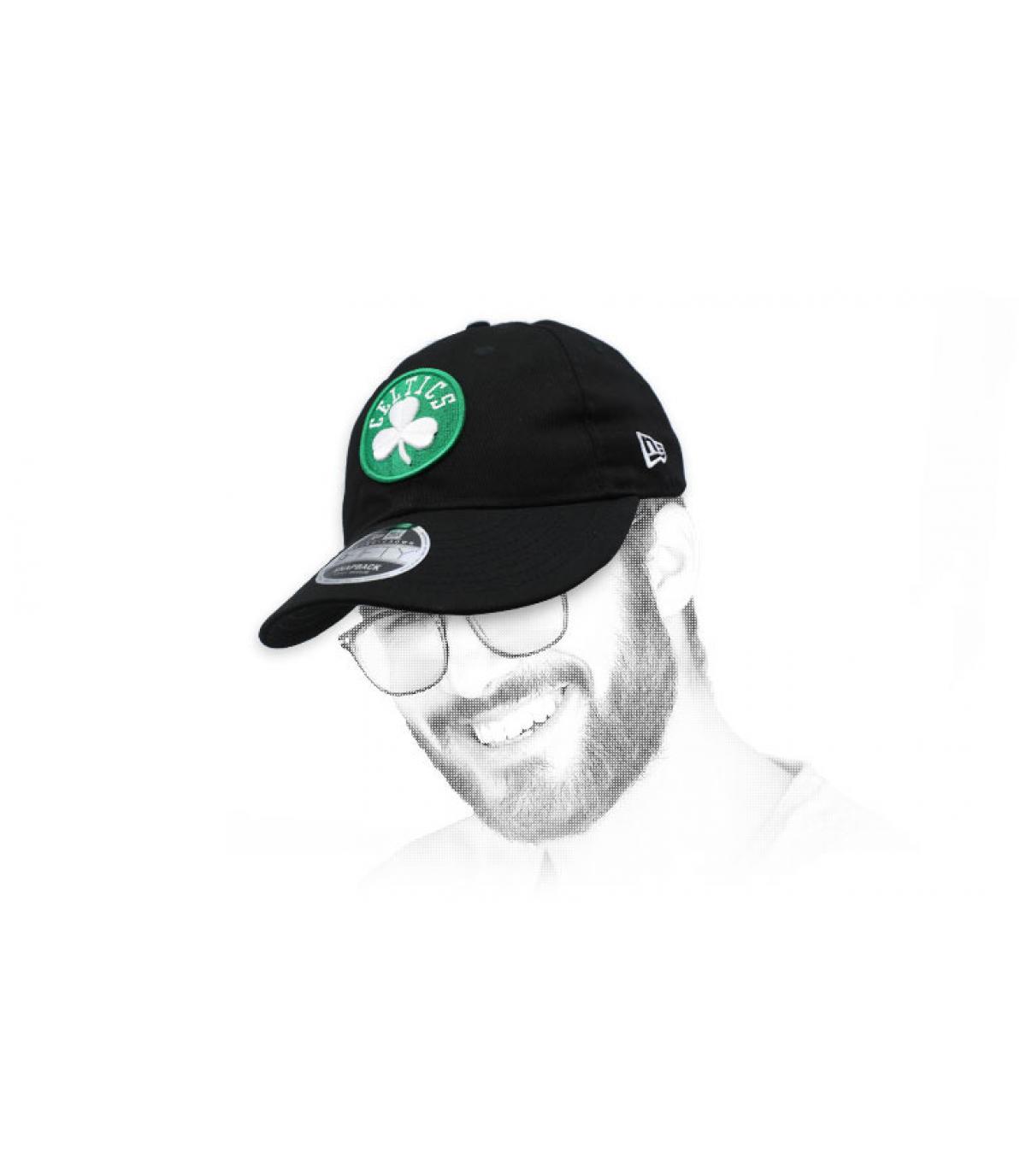 Snapback Celtics schwarz Retro