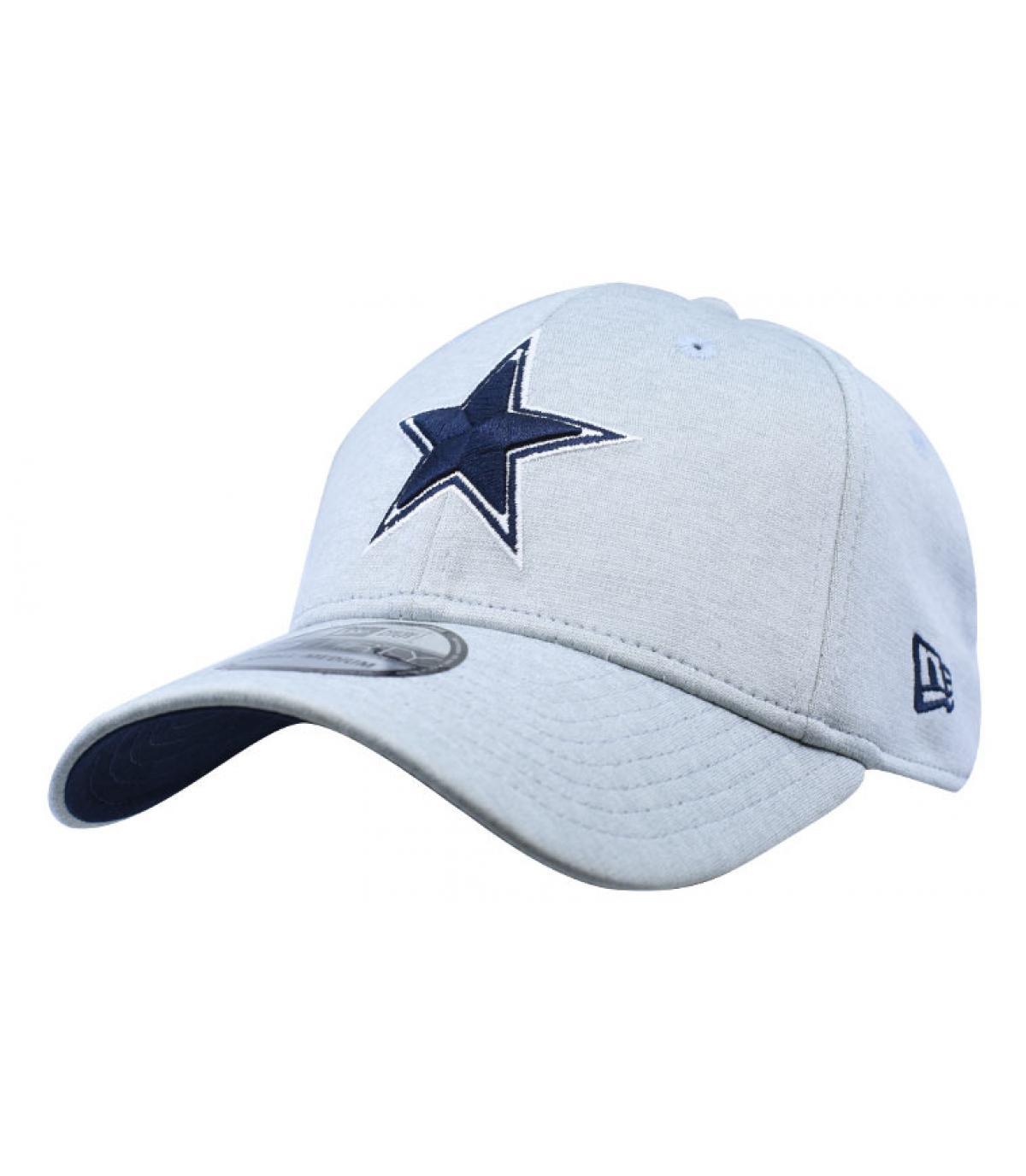 Cap Dallas Cowboys grau