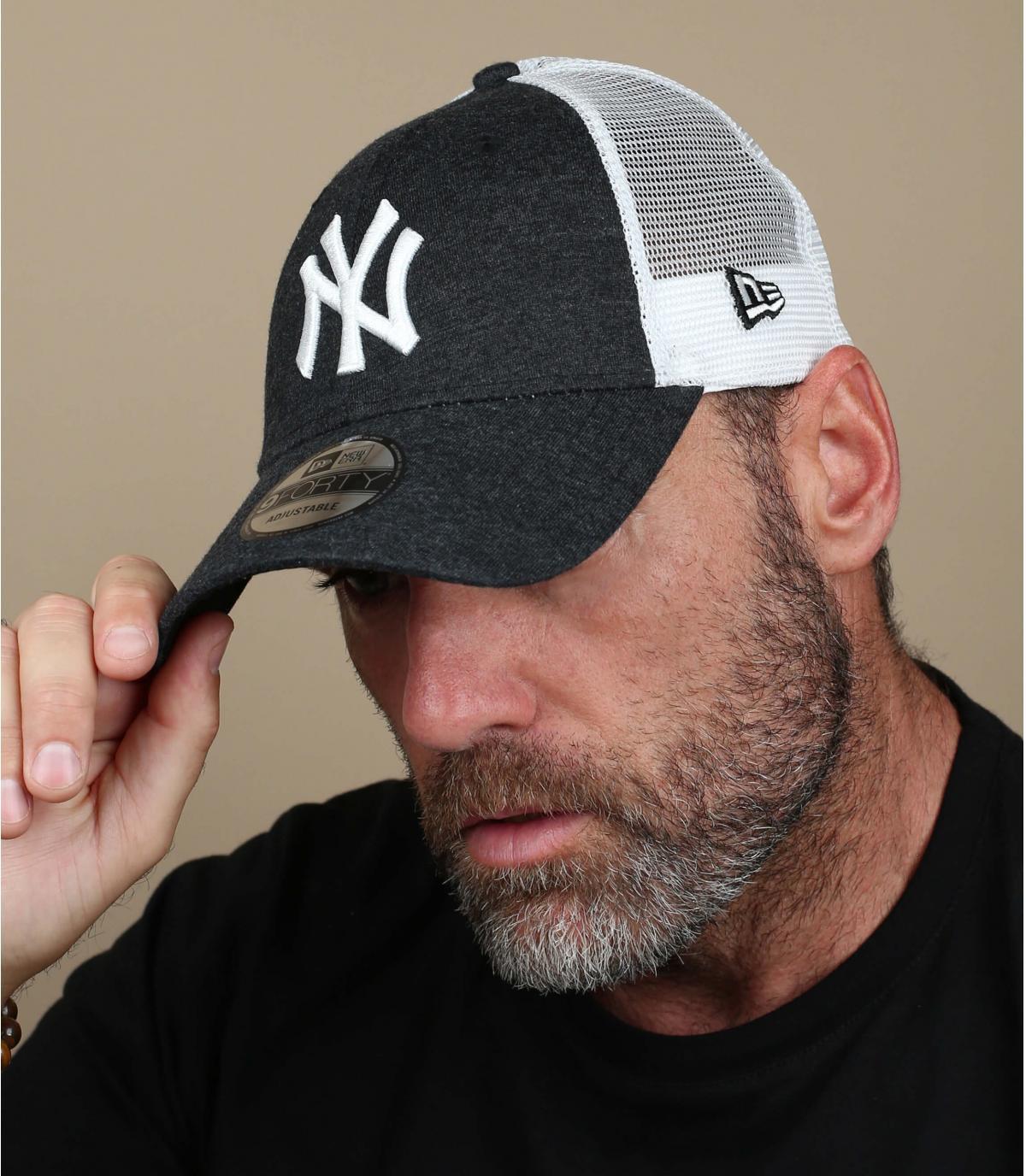Trucker schwarz NY