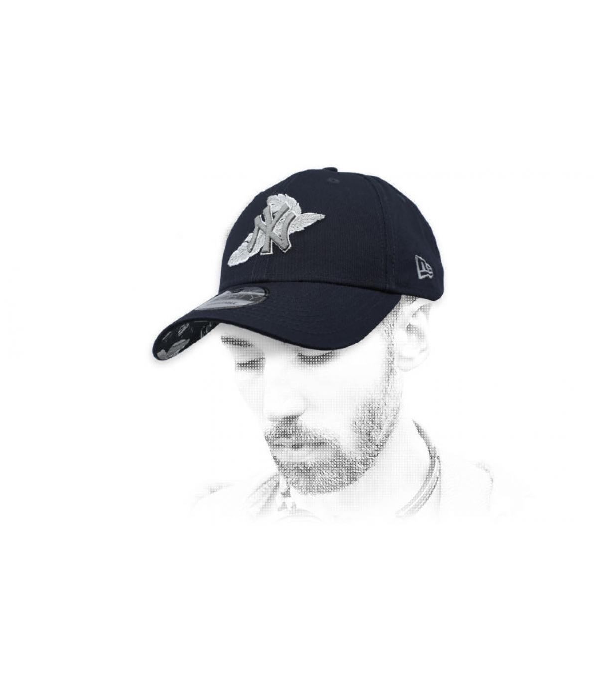 Cap schwarz NY