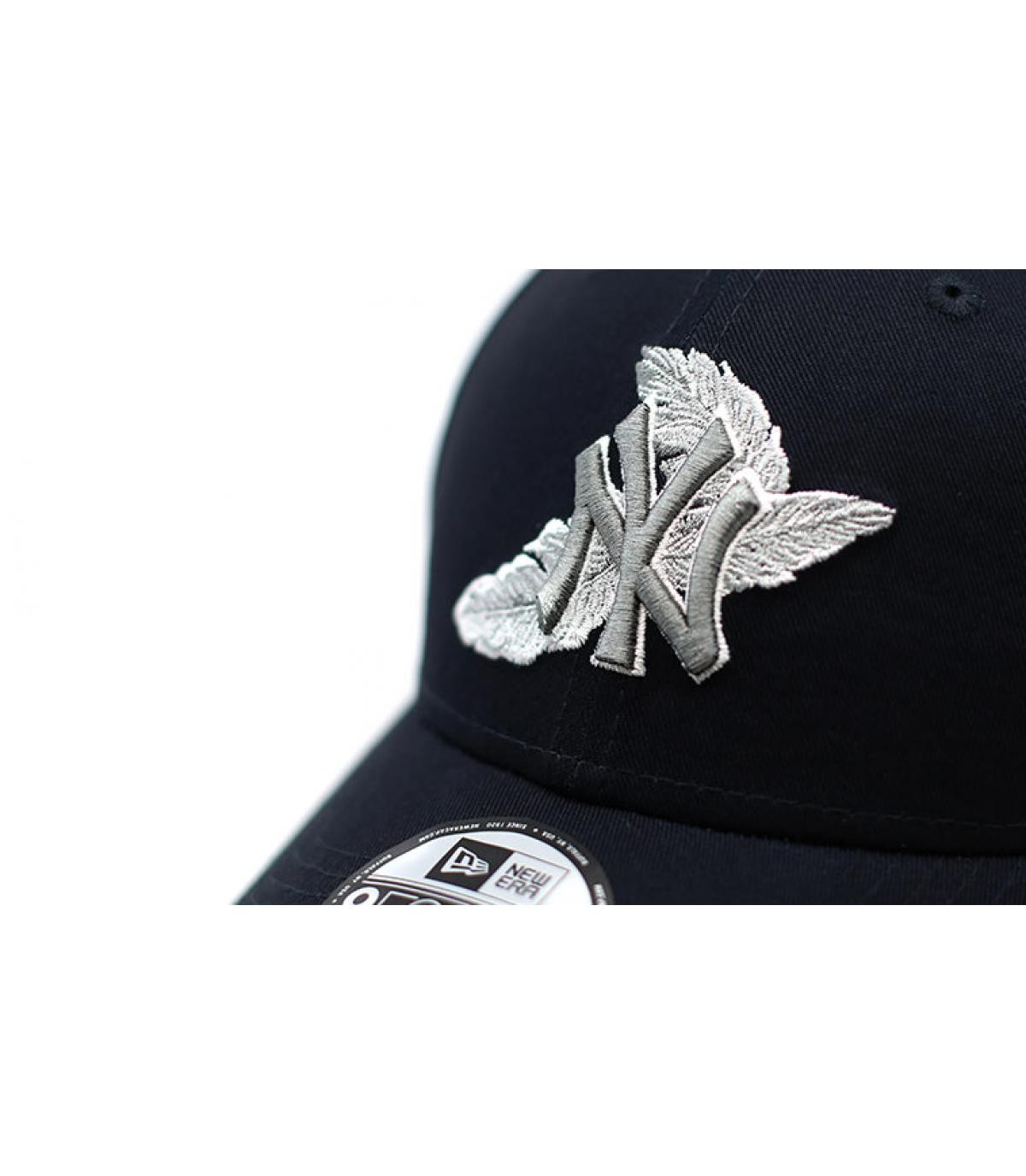 Details Cap MLB Light Weight NY 9Forty navy gray - Abbildung 3