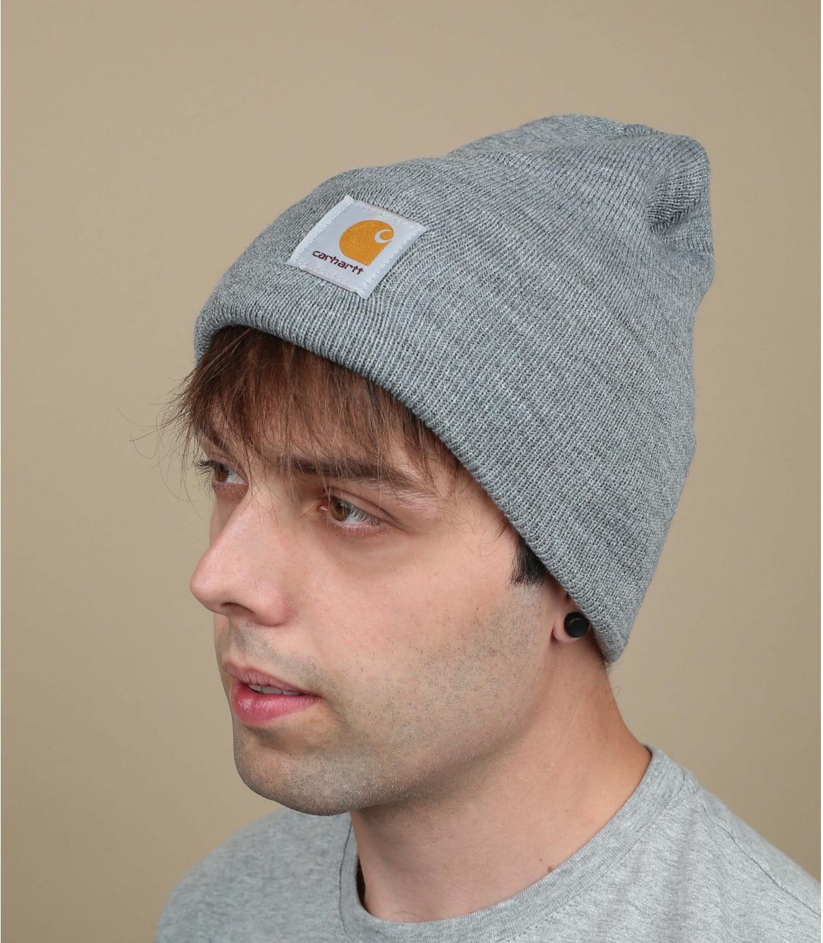 Carhartt graue Mütze
