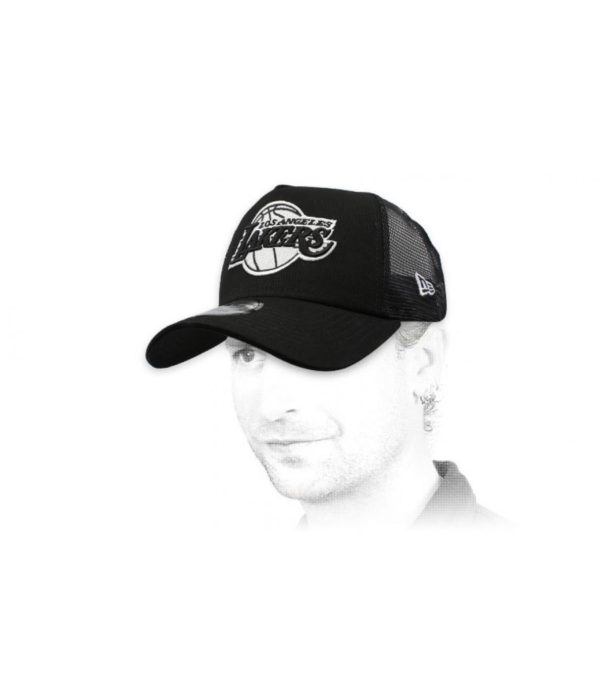 Trucker Lakers schwarz