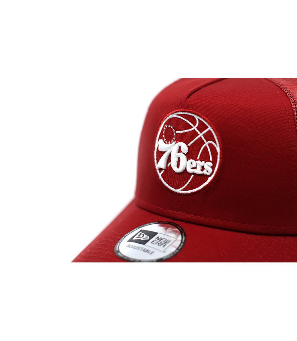 Details Trucker NBA Ess 76ERS red - Abbildung 3