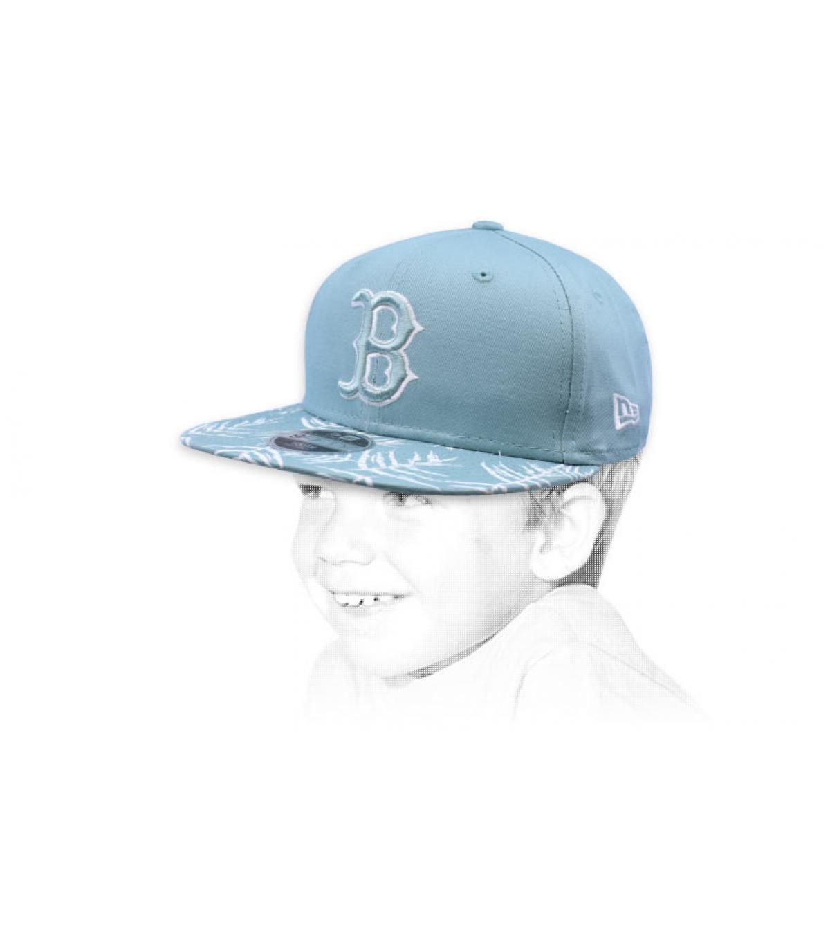 Kinder snapback blau B