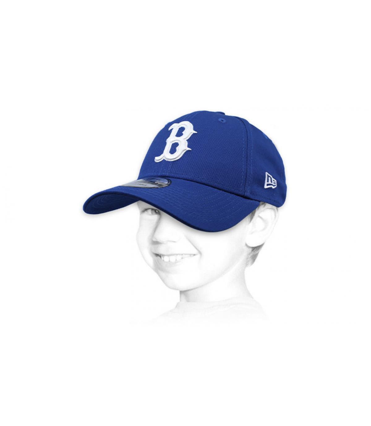 Kinder Cap B blau