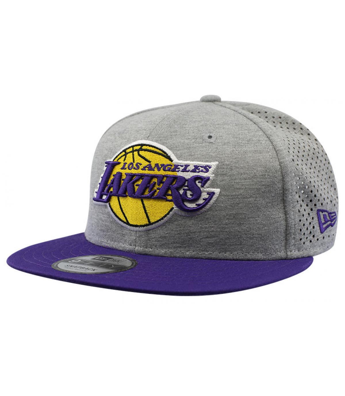 Snapback Lakers grau
