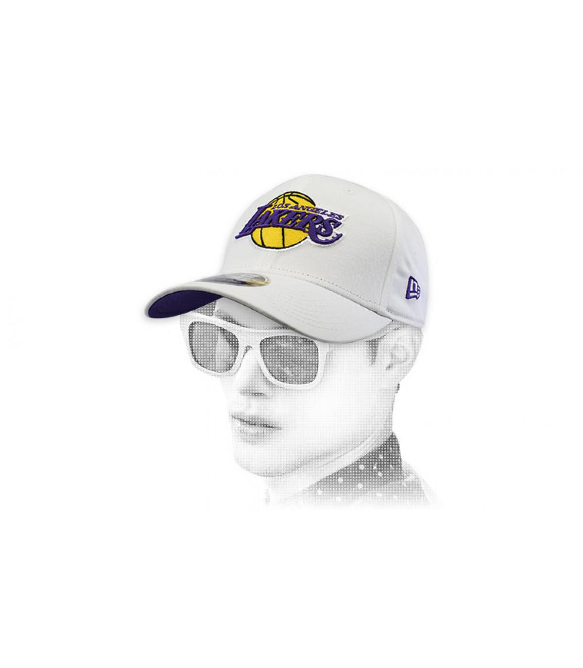 Cap Lakers weiß