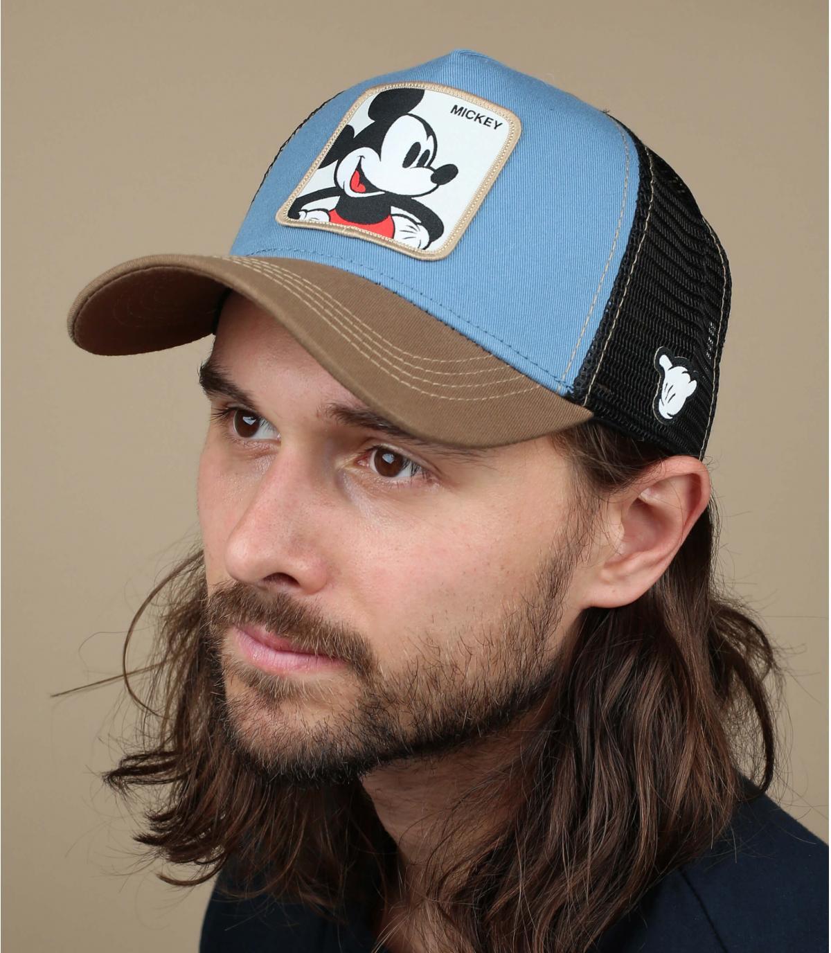 trucker Mickey blau