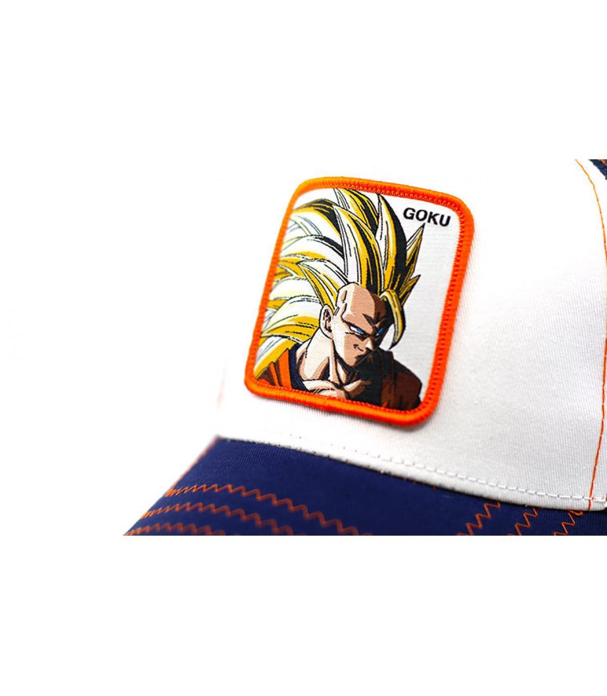 Details Trucker Son Goku Super Sayen 3 - Abbildung 3