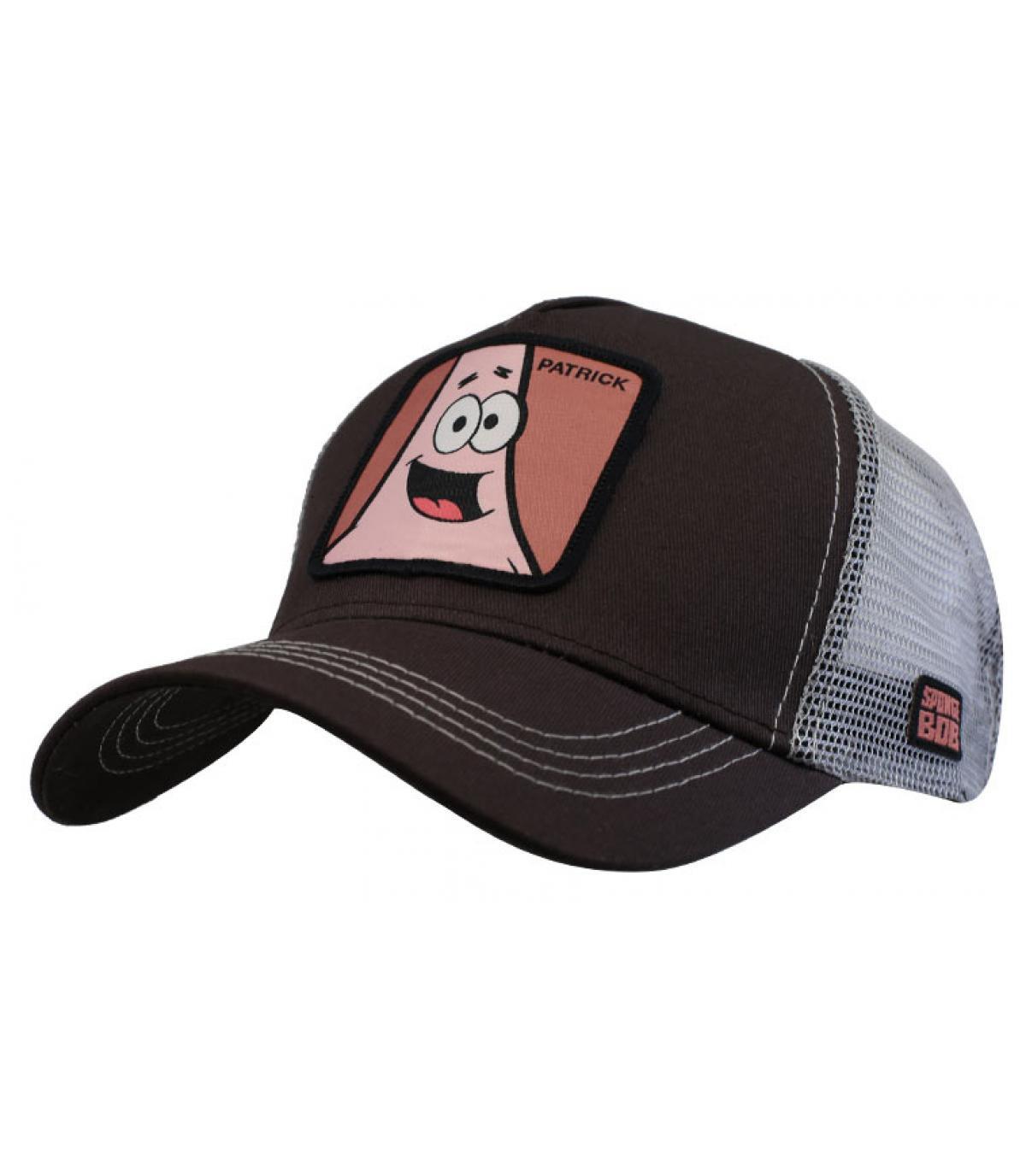Trucker Patrick grau rosa