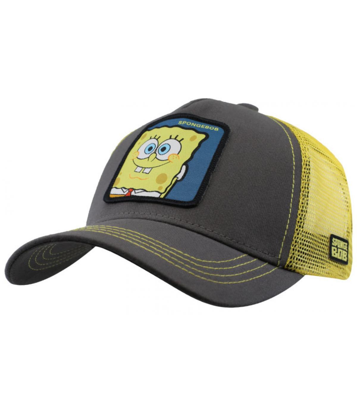 Trucker Sponge Bob grau