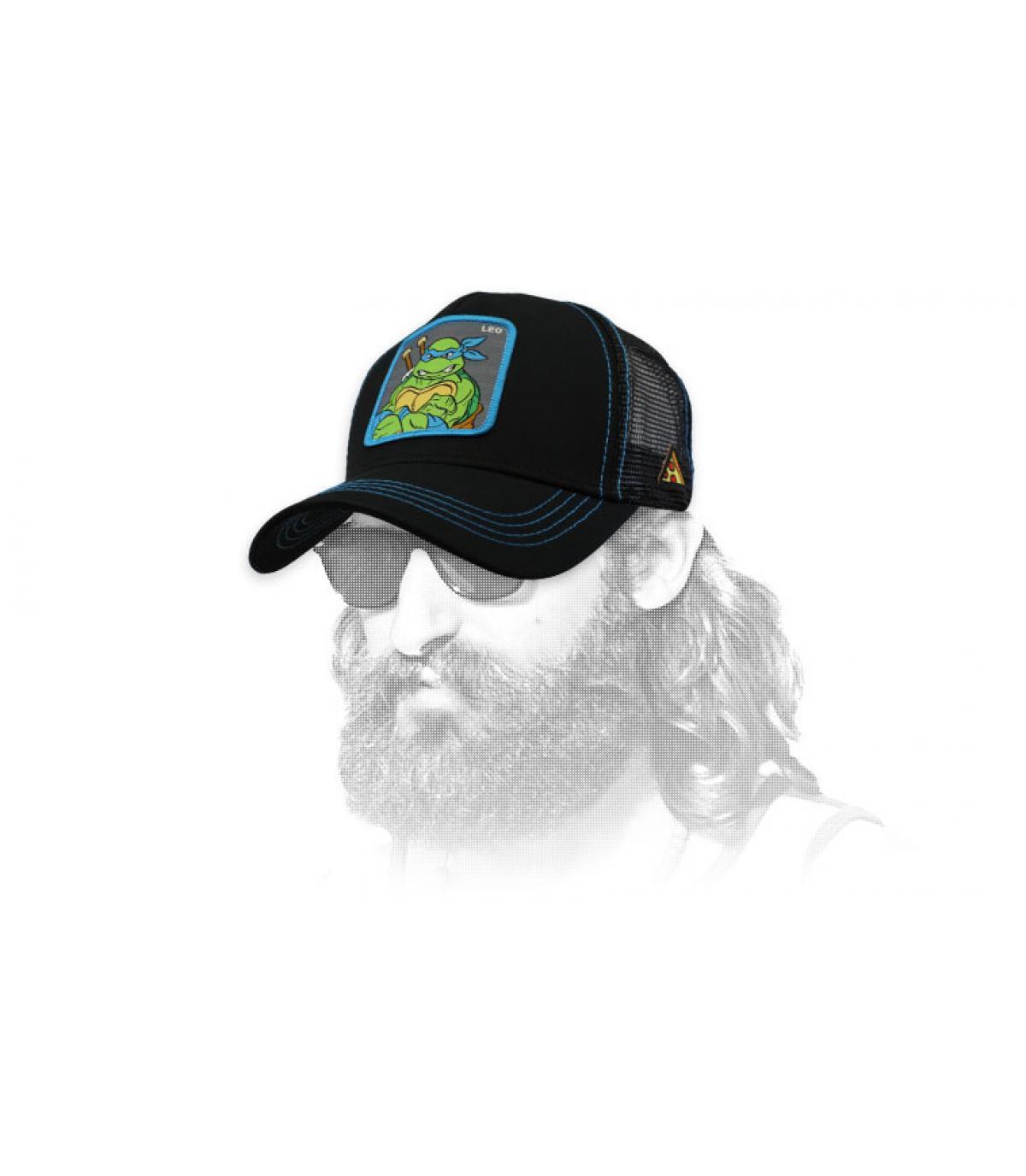 trucker Leonardo schwarz