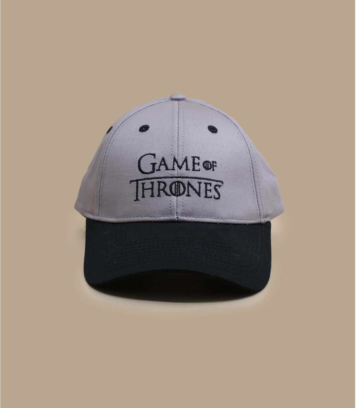 Cap Game of Throne grau