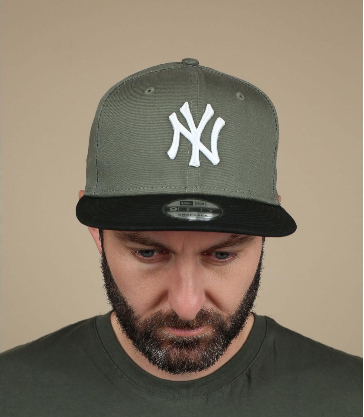 Snapback grün NY