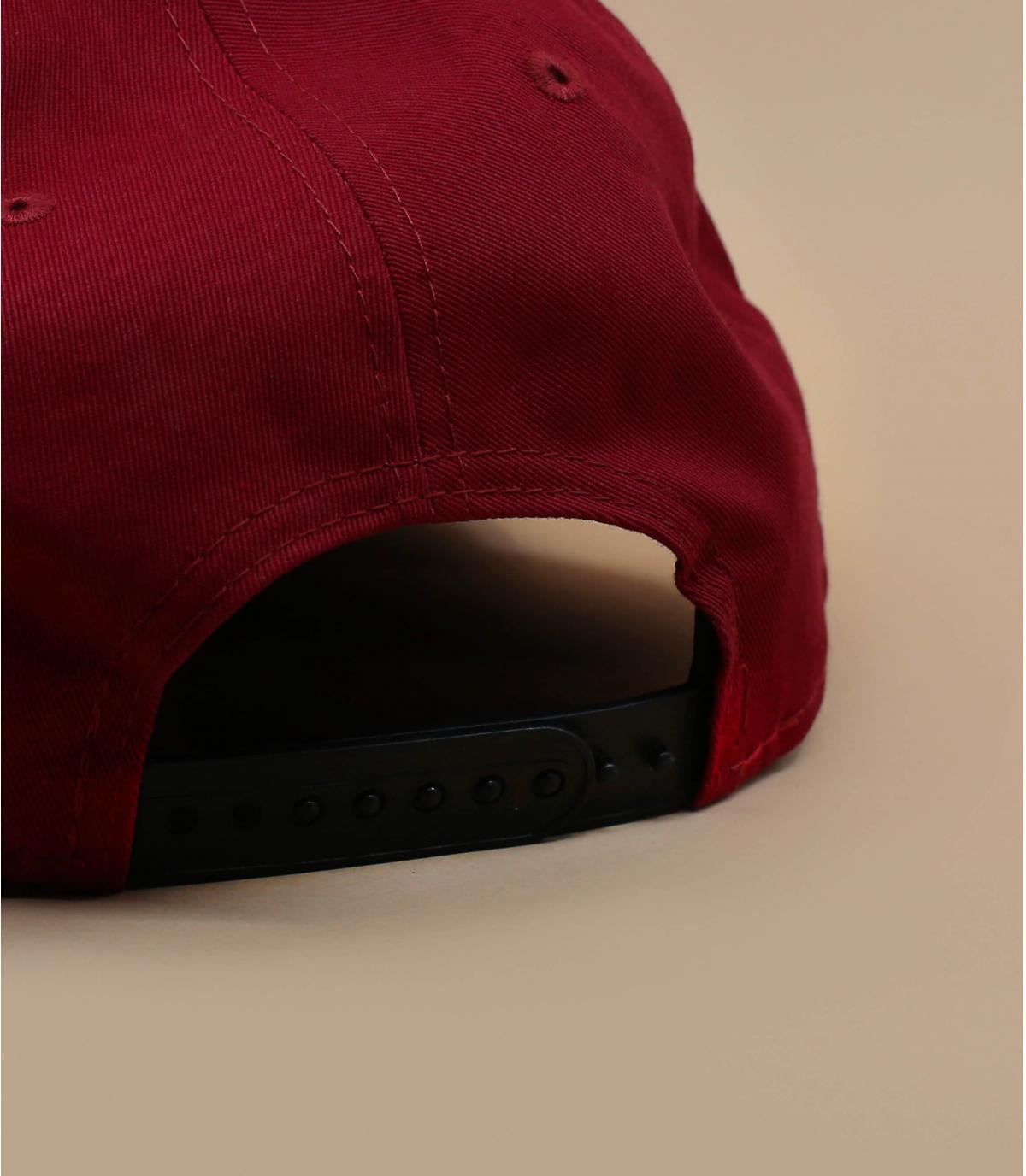 Details Snapback Colour Block NY 950 maroon black - Abbildung 4