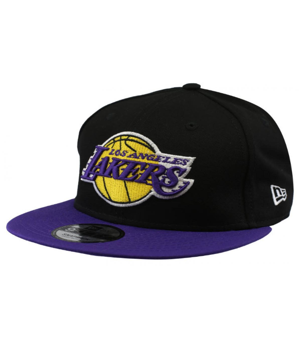 Snapback schwarz violet Lakers
