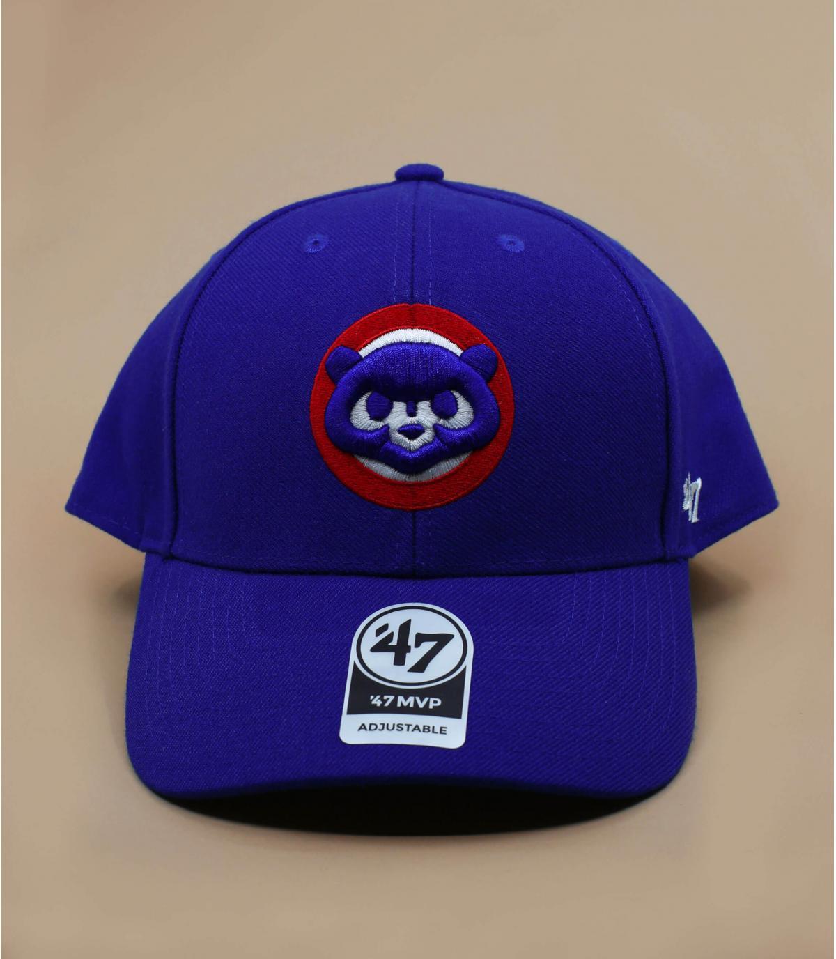 Cap Cubs vintage blau