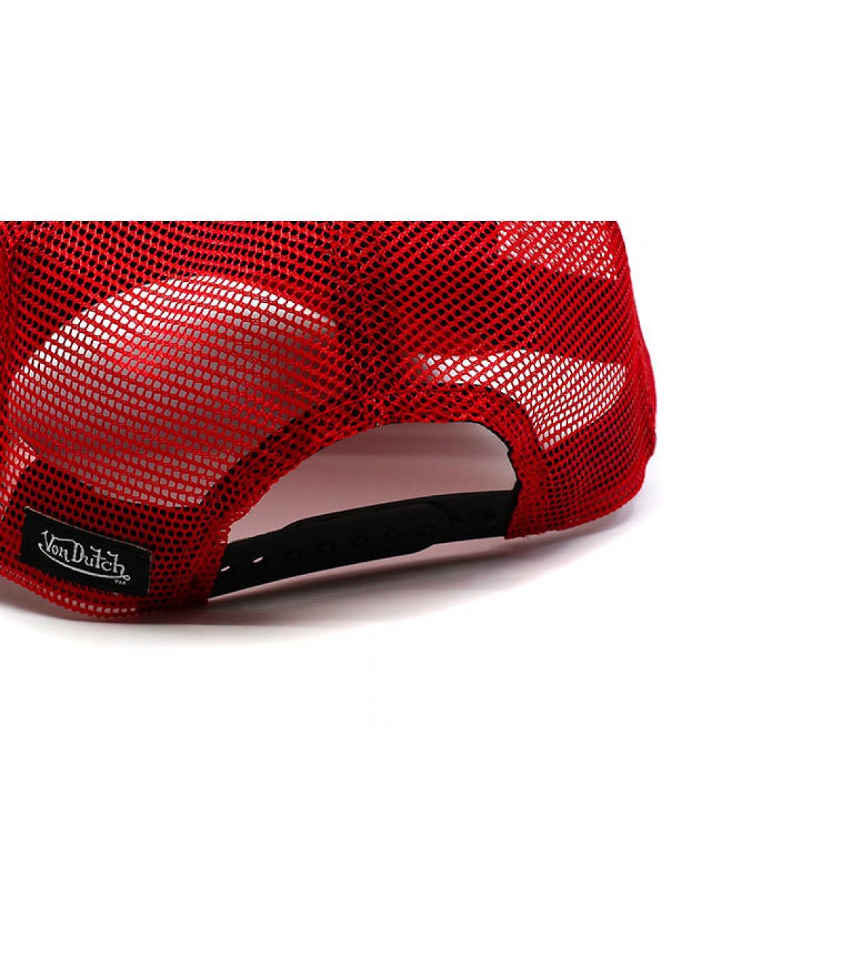 Details Trucker Eye Patch black red - Abbildung 5