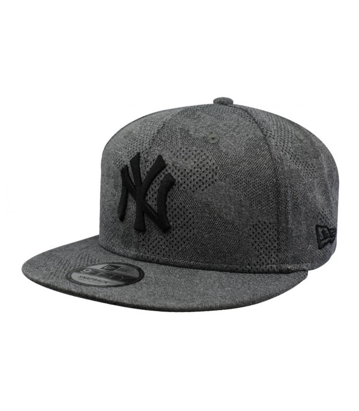 Details Snapback Engineered Plus NY 950 gray black - Abbildung 2