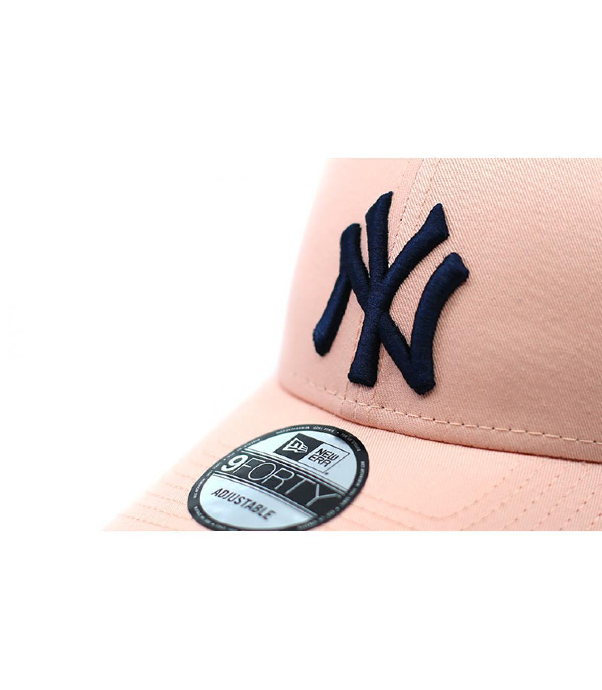 Details Cap League Ess NY 940 blush navy - Abbildung 3